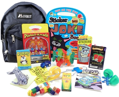 The Pack For 6 To 9 Year Old Boys Is A Child Sized Backpack Fully